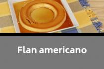Flan americano