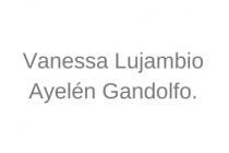 Vanessa Lujambio y Ayelén Gandolfo