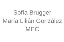 Sofía Brugger y María Lilián González