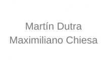 Martín Dutra y Maximiliano Chiesa