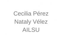 Cecilia Pérez y Nataly Vélez