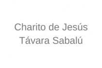 Charito de Jesús  Távara Sabalú