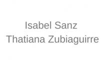 Isabel Sanz y Thatiana Zubiaguirre