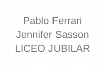 Pablo Ferrari y Jennifer Sasson