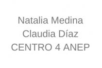 Natalia Medina y Claudia Diaz.