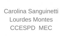 Carolina Sanguinetti y Lourdes Montes
